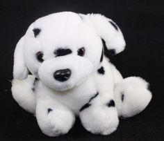 Fiesta-Dalmatian-Plush-Stuffed-Toy-Animal-Lovey-Puppy-Dog-7-034
