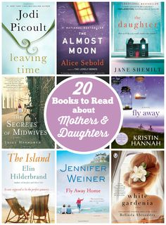20 Books About Mothers & Daughters
