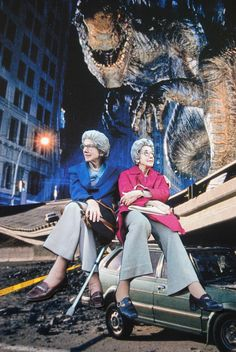 Sally & Betty Vs. Godzilla, John Turck Collage