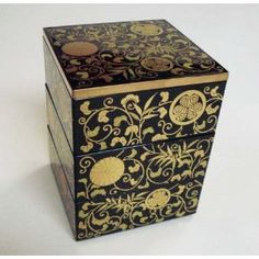 Mini Jubako Japanese Laquered Box
