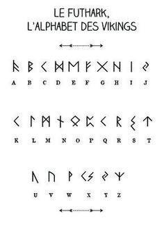 Le Futhark, l'alphabet des vikings par l'atelier imaginaire
