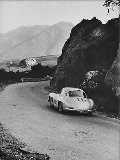 Targa Florio 1955. #Mercedes Benz 300SL #MercedesBenzofHuntValley