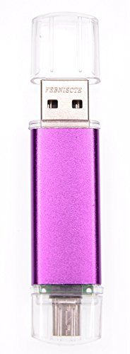 Introducing FEBNISCTE 16GB Micro USB 20 OTG Flash Drive For Android SmartphoneTablet PC Purple. Great product and follow us for more updates!