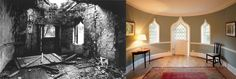 Stunning #restoration of Knowle Hill by the Landmark Trust, now available for a holiday let #oldtonew #refurbishment #renovation #decoration #beforeandafter