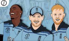 Cricket Poster, World Cup Final, Champion, England, English, British, United Kingdom