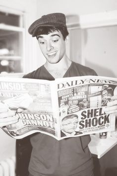 Corey Cott stars as Jack Kelly in the Broadway production of Disney's Newsies! *dies because attractive*