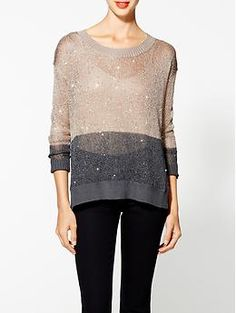 I.Madeline Sequin Sweater | Piperlime