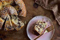 Chocolate-Cherry Brioche | King Arthur Flour