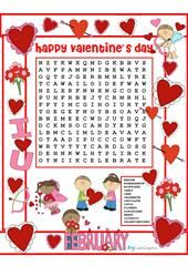 English ESL worksheets, activities for distance learning and physical classrooms Esl, Word Search, Worksheets, Physics, Classroom, Valentines, Activities, Learning, Happy