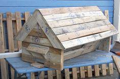 Hive With Pallets / Ruche En Palettes