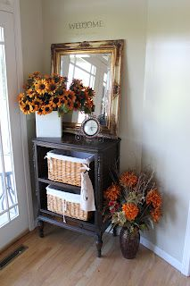 Adorable Fall Decor from the Fashionable Farmhouse blog