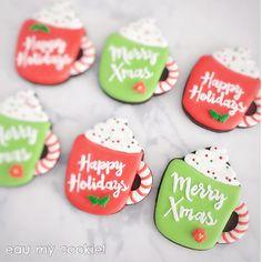83 Likes, 1 Comments - Mavis Yong Christmas Hearts, Christmas Sweets, Christmas Mugs, Merry Happy, Merry Xmas, Good Saturday, Saturday Morning, Mavis, Christmas Cookies