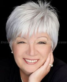 Short Haircuts 2017 for Women Over 60 hairstyles long Short Hairstyles Short Hairstyles Over 50, Haircuts For Fine Hair, Short Hairstyles For Women, Trendy Hairstyles, Curly Hairstyles, Pixie Haircuts, Hairstyles Haircuts, Grey Haircuts, Haircuts For Over 60