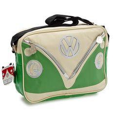 Camper Deluxe Shoulder Bag-Green