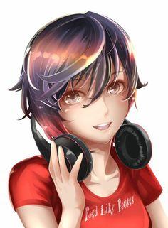 Rwby Anime, Rwby Fanart, Manga Art, Anime Manga, Poke Pokemon, Rwby Rose, Demon Wolf, Red Like Roses, Rwby Characters