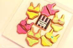 lingerie sugar cookies