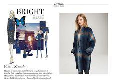 Traumpaar Blau & Schwarz - Outfits, die an Eleganz und Lässigkeit nicht zu überbieten sind. Zu finden bei Elégance Paris.