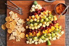 Wow your guests at your next get-together with this easy-to-assemble cheese board!