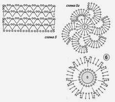TRICO e crochet-madonna-mine: Crochet Bluse nei modelli irlandesi o russo