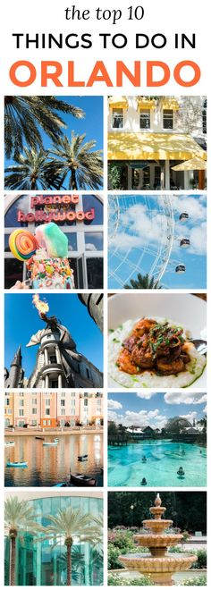 The top 10 things to do in Orlando, Florida! | Planning a trip to Orlando? I've rounded up the top 10 things to do in Orlando, Florida, that are guaranteed to make your trip a success. Whether you're moving to Orlando or just headed in on vacation, you will LOVE this list of fun activities in Orlando by Florida travel blogger Ashley Brooke Nicholas #CORTatHome sponsored by @cortfurniture affordable travel tips, orlando vacation tips, vacation tips, orlando eye, leu gardens, universal…