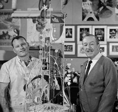 Rolly Crump & Walt Disney