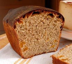 Pan dulce de canela y orejones, con masa madre y sin azúcar   Recetas con fotos paso a paso El invitado de invierno