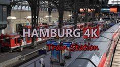 Ultra HD 4K Hamburg Travel Main Train Station Hauptbahnhof Tourism Transport UHD Video Stock Footage - http://quick.pw/10w- #travel #tour #resort #holiday #travelfoodfair #vacation