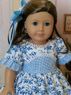 CLEARANCE SALE / American Girl 1800's Gown / by Farmcookies