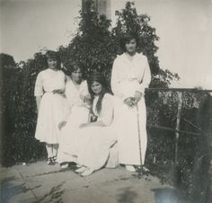 Anastasia, Olga, Maria and Tatiana, 1914