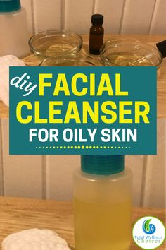 Organic Facial Cleanser, Cleanser For Oily Skin, Face Masks For Kids, Tips Belleza, Natural Essential Oils, Diy Skin Care, Organic Recipes, Homemade, Check