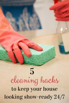 If you're selling your home, you know that you need to have it ready for showing at a moment's notice. Just how do you keep it clean for that? Don't stress it, we have some helpful cleaning hacks to keep your home ready at all times and get it sold!