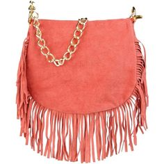 George J. Love Under-Arm (230 NOK) ❤ liked on Polyvore featuring bags, handbags, shoulder bags, accessories, purses, coral, purse shoulder bag, man bag, leather purses and leather fringe handbags