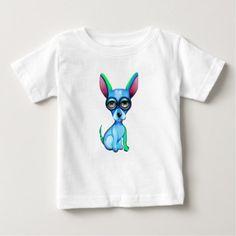 #Blue Chihuahua Baby T-Shirt - #chihuahua #puppy #dog #dogs #pet #pets #cute
