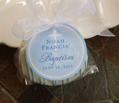 Items similar to Christening and Baptism Custom Favor Tags - For Cake Pops - Lollipops - Cookies - Desserts - Party Favors - Personalized Tags on Etsy Lollipop Cookies, Cookie Party Favors, Party Favor Tags, Party Desserts, Cookie Desserts, Lord Is My Strength, Joy Of The Lord, Personalized Tags, Lollipops