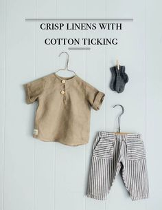 Shop our curated collection of sustainable children's clothes. Little Boy Outfits, Little Boy Fashion, Baby Boy Fashion, Toddler Outfits, Baby Boy Outfits, Kids Outfits, Baby Clothes Patterns, Baby Kids Clothes, Fashion Kids