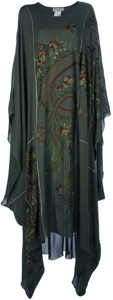 EMILIO PUCCI Embroidered Kaftan - Lyst