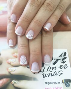 Dipped Nails, Manicure, Spa, How To Make, Little Girl Nails, Short Nails, Nail Decorations, Nail Manicure, French Tips