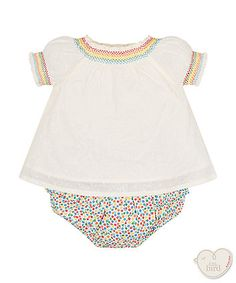 461081a57d little bird rainbow blouse and bloomer set