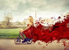 What Happens During Your Average Period Cycle (With Remedying Tips) Red Fashion, Fashion Photo, Womens Fashion, Image Beautiful, Beautiful Women, Crazy Roller Coaster, Period Cycle, Good Luck To You, Royalty Free Photos