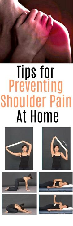 Lean how to prevent shoulder pain at home with Pop Doc