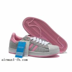 6a37494a5 Adidas Superstar II W Plum Blossom White Pink Womens Shoes