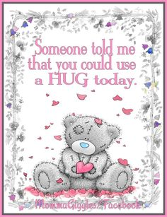 Tatty Teddy Bear - (((Hugs)))