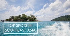 After spending the last three year of our lives living in South East Asia, we have managed to see quite a few incredibly beautiful places. Here we list a few that we can recommend next time you're exploring the tropics.