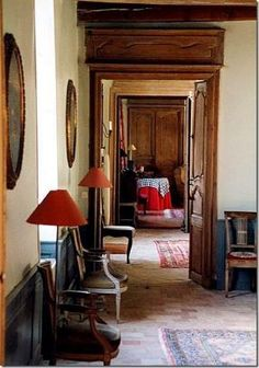enfilade in French home