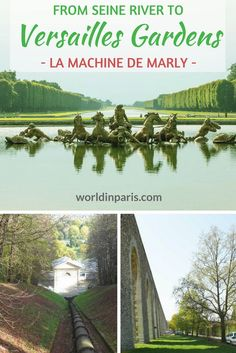 From River Seine to Versailles Gardens and Versailles Fountains, Machine de Marly, Easy day trips from Paris by Train, Day Trips from Paris, Paris to Versailles, Versailles Musical Gardens, Versailles Fountain Show #parisdaytrips #exploringfrance #paris #france