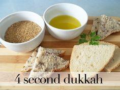 Speedy snack | 4 Second Dukkah