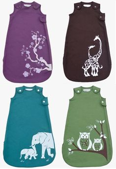 New in store: beautiful organic cotton sleep sacks by Wee Urban. Very lovely!