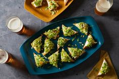 Shredded Brussels Sprout and Ricotta Toasts