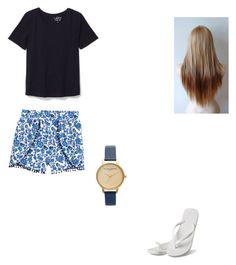 """Untitled #78"" by abby-nelson1015 on Polyvore featuring LOFT, Topshop and Hotmarzz"