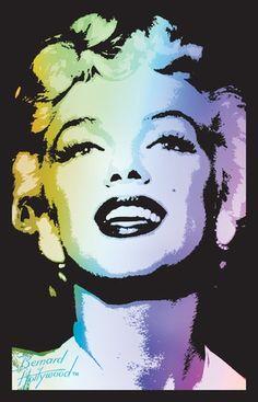 Marilyn Monroe Blacklight Blacklight Poster at AllPosters.com